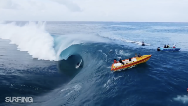 THE SURFING MAGAZINE ARCHIVE: The Tahiti Du Ciel Edit (2015)