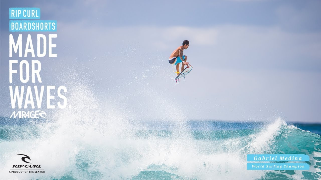 Gabriel Medina | Mirage Edge | Boardshorts by Rip Curl