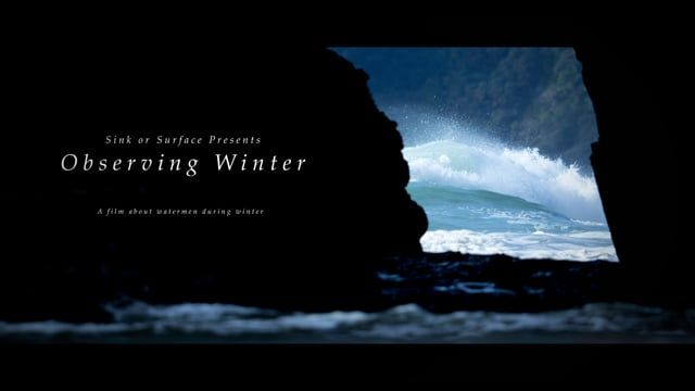 Observing Winter