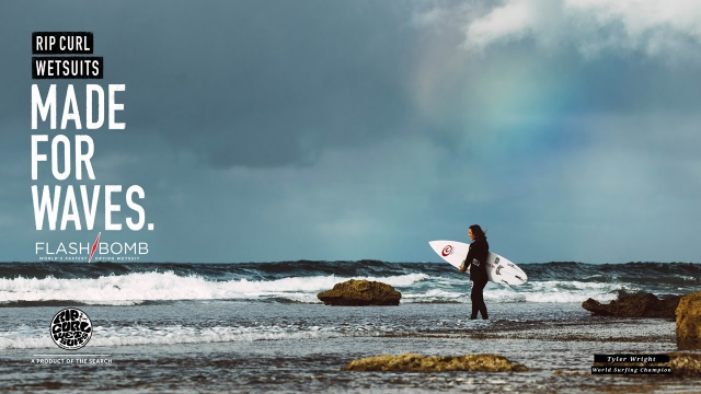 Tyler Wright & Nikki Van Dijk | Made For Waves Flashbomb | Wetsuits by Rip Curl