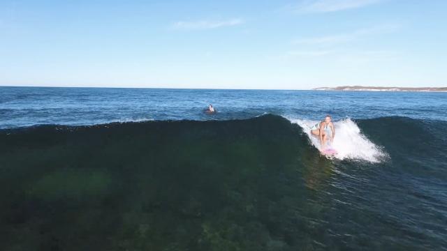 Flick and Ellie Jean explore Rottnest Island
