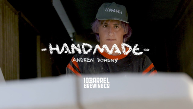 Andrew Doheny Bashes Lips Like None Other on Self-Shaped Craft | HANDMADE | SURFER