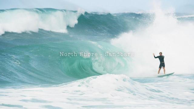 North Shore sandbars w/ John John Florence