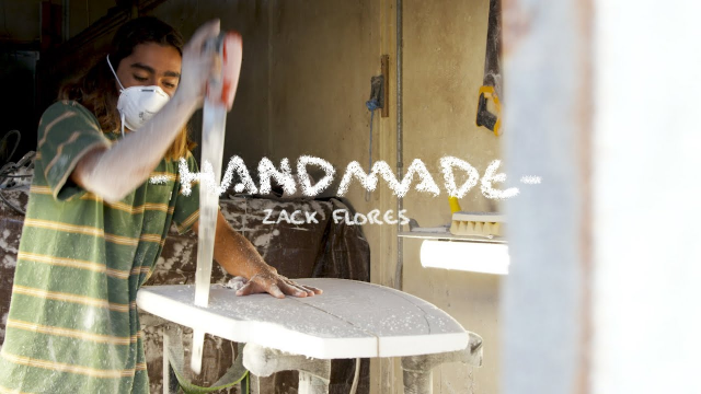 Zack Flores is a 17-Year-Old Shaping Wizard | HANDMADE | SURFER