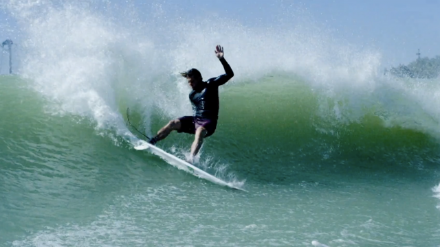 Conner Coffin at The Surf Ranch