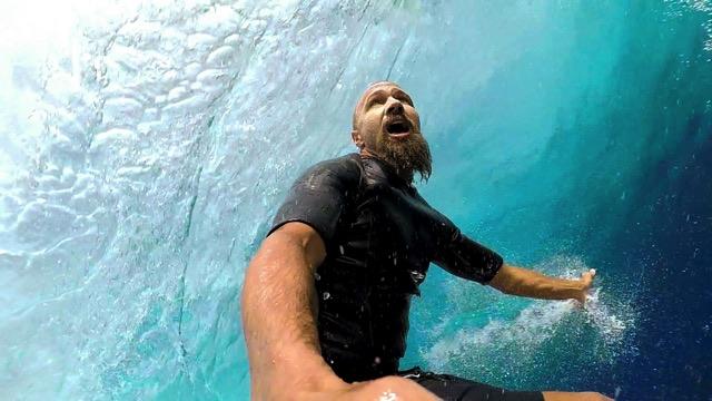 GoPro: Stephan Figueiredo - Cloudbreak 07.03.15 - Surf