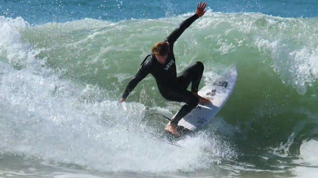 Pat Gudauskas on a 5'10 Fever