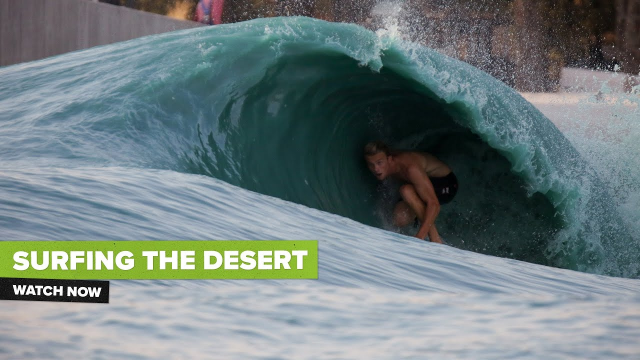 SURFING THE DESERT ft. Logan Kamen and Alexa Muss