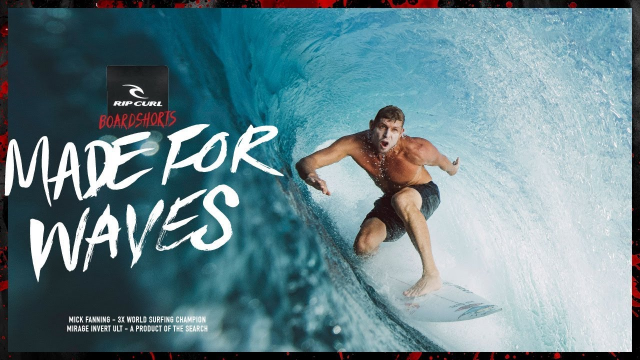 Mick Fanning | Made For Waves 2018-19 | Mirage Invert Ultimate Boardshort
