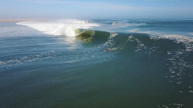Koa Smith Skeleton Bay 2018: 1 wave, 8 Barrels