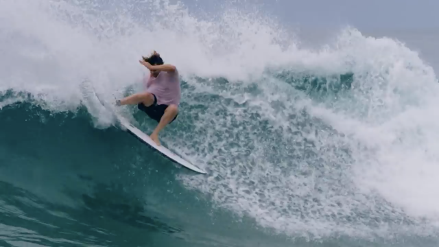 Dane Reynolds Rips A Corona x Parley Gary McNeill ECOBOARD