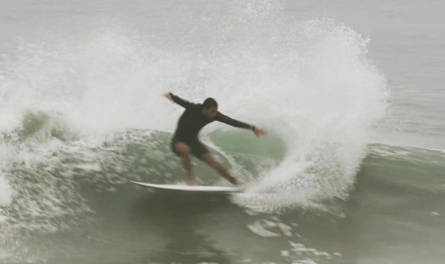 Rafael Teixeira On The Tazer Surfboard Model