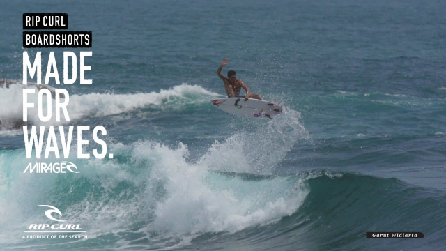 Garut & Pepen Get Tubed | Made For Waves | Boardshorts by Rip Curl