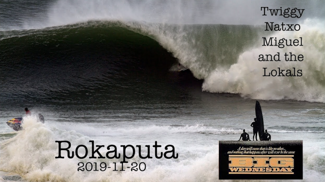 Surfing Rokaputa With Grant Baker, Miguel Branco, Natxo Gonzalez...The Big Wednesday