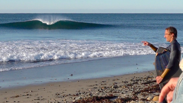 Scoring PERFECT mini waves at Trestles with NOBODY OUT!!!
