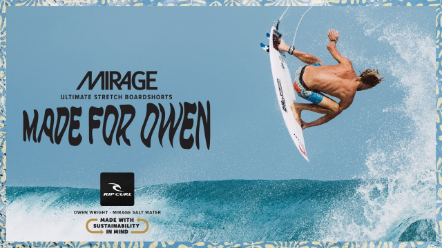 Salt Water Culture | Owen Wright Mirage Salt Water Boardshort | Made For Waves 2019