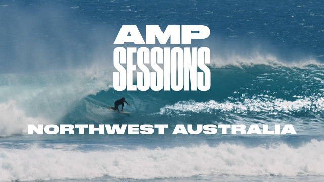 Northwest Australia is a Tube Hound's Paradise | Amp Sessions | SURFER