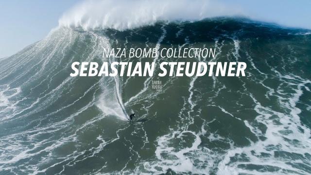 Sebastian Steudtner . Naza Bomb Collection #002 - [Drone] [Big Wave] [Nazaré]