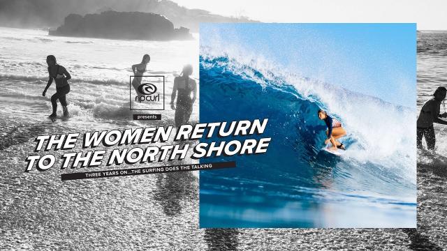 Rip Curl Women Take On The North Shore | My Bikini Week