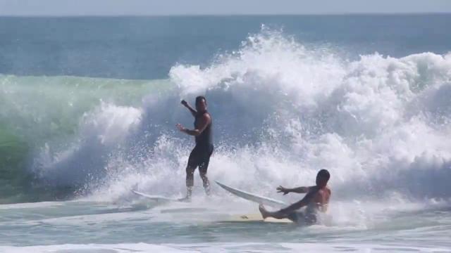As fun as waves get in Florida - Tropical Storm Arthur.