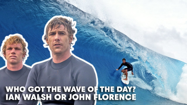 Who Got The Best Wave Of This El Niño Dream Session — Ian Walsh Or John Florence?