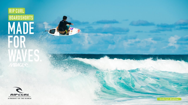 Gabriel Medina | Made for Waves | Boardshorts by Rip Curl