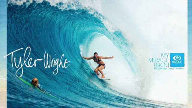 My Mirage Bikini by Rip Curl: Tyler Wright Epic P-Pass