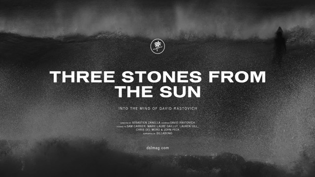 Three Stones From The Sun - Dave Rastovich