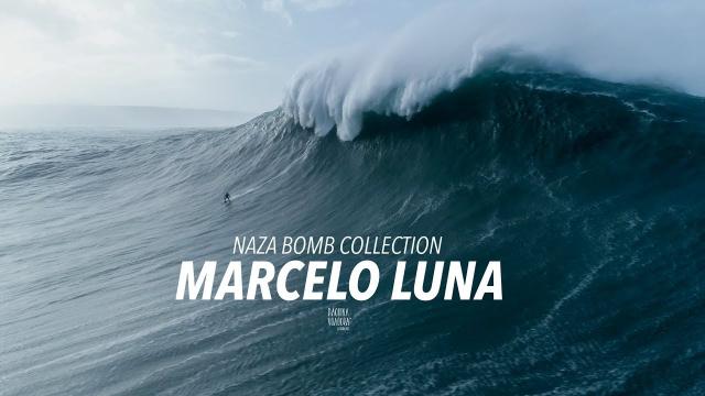 Marcelo Luna . Naza Bomb Collection #003 - [Drone] [Big Wave] [Nazaré]