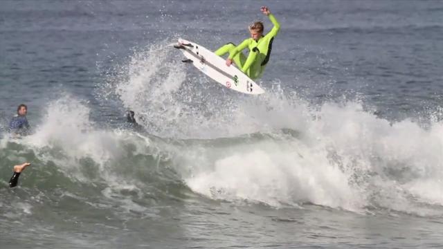 SURFING.tv: Kolohe + Evan in San Clemente