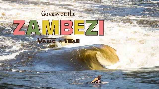 """""""Go Easy On The Zambezi"""" River Surfing In Africa"""