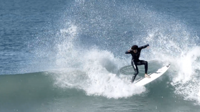 The Jazzy Style of South African Surfer Michael February   SURFER Magazine