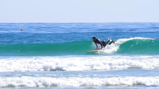 AQSS Bronze Whaler Longboard ft Beau Young
